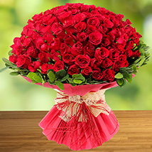 100 Red Roses:  Gifts Delivery