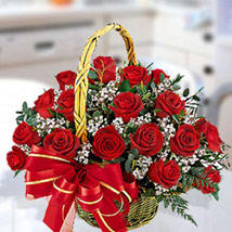 30 Red Roses Arrangement: Anniversary Gifts