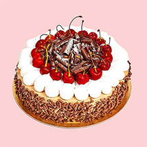 4 Portion Blackforest Cake: Birthday Cakes