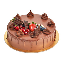 4 Portion Fudge Cake: Birthday Cakes Dubai