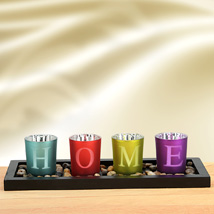 Colorful Home Decor Glasses: New Year Gifts