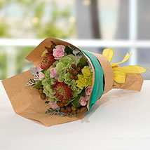 Exotic Flower Bouquet: Anniversary Gift Ideas
