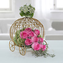 Fresh Pink Rose Arrangement: New Arrival Gifts