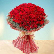 Grand 100 Red Roses: Best Gifts