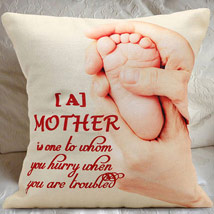 Greatest Mom Cushion: Mother's Day Gift Ideas
