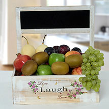 Hamper Of Healthy Fruits: New Year Gifts