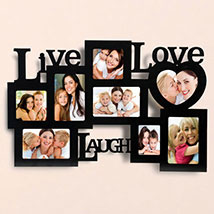 Live Love Laugh Photo Frame: Personalized Gifts