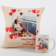 Perfect Love Personalized Combo: Anniversary Gift Ideas